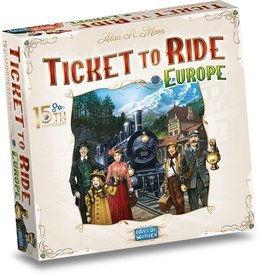 Ticket to Ride Europe 15th Anniversary - Boardgame