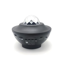 Stars Projector Lamp - Incl. Music