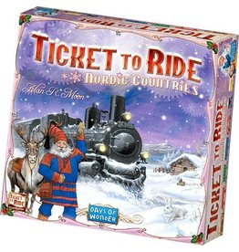 Ticket to Ride Nordic Countries - Boardgame - Englisch edition