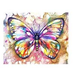 Schilderen op nummer - Volwassenen - Vlinder