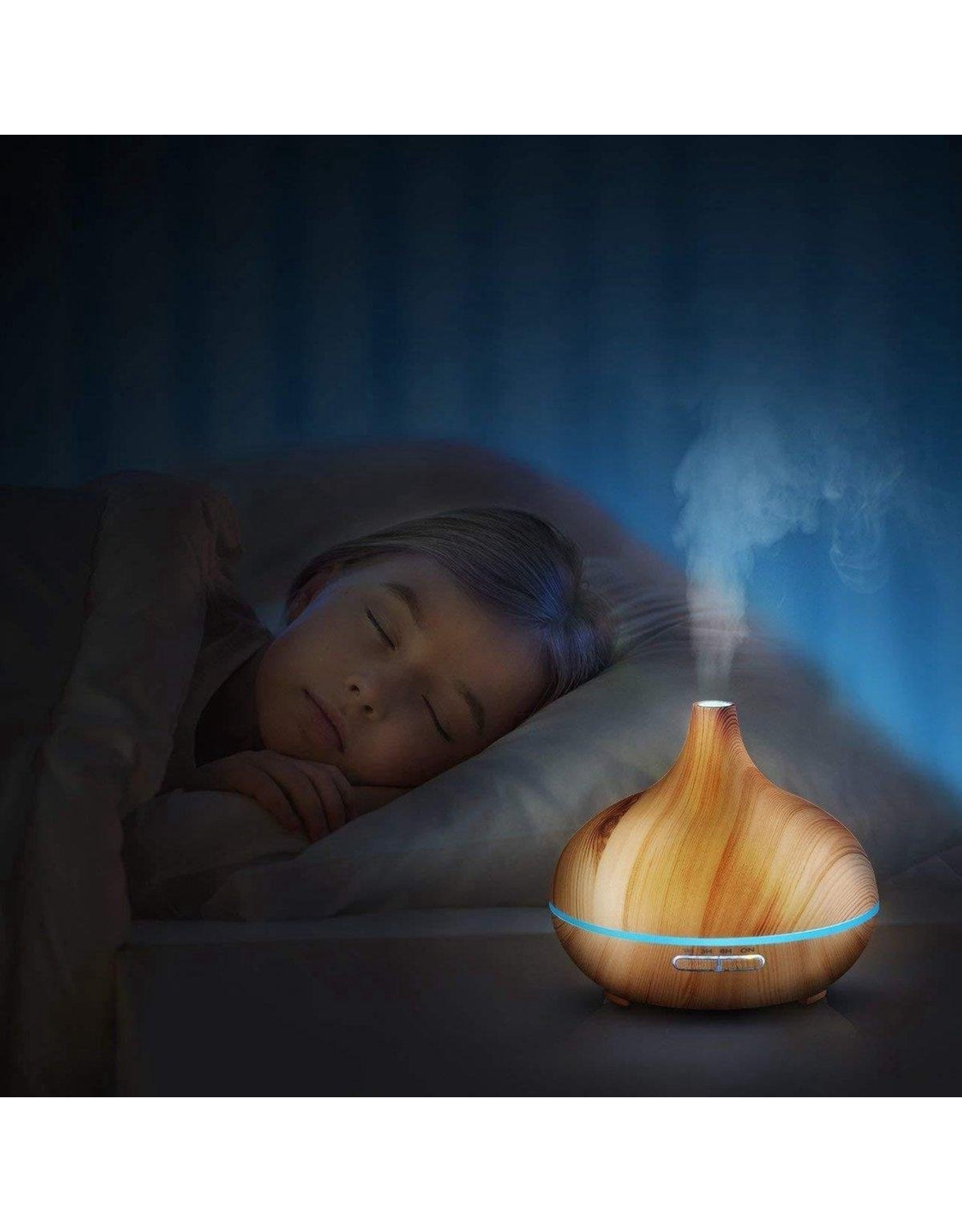 Luxe Aroma Diffuser 400ML - Inclusief afstandsbediening