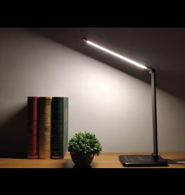 Parya Official Parya Official - LED Bureaulamp - Draadloos Opladen Voor Smartphone - Zwart