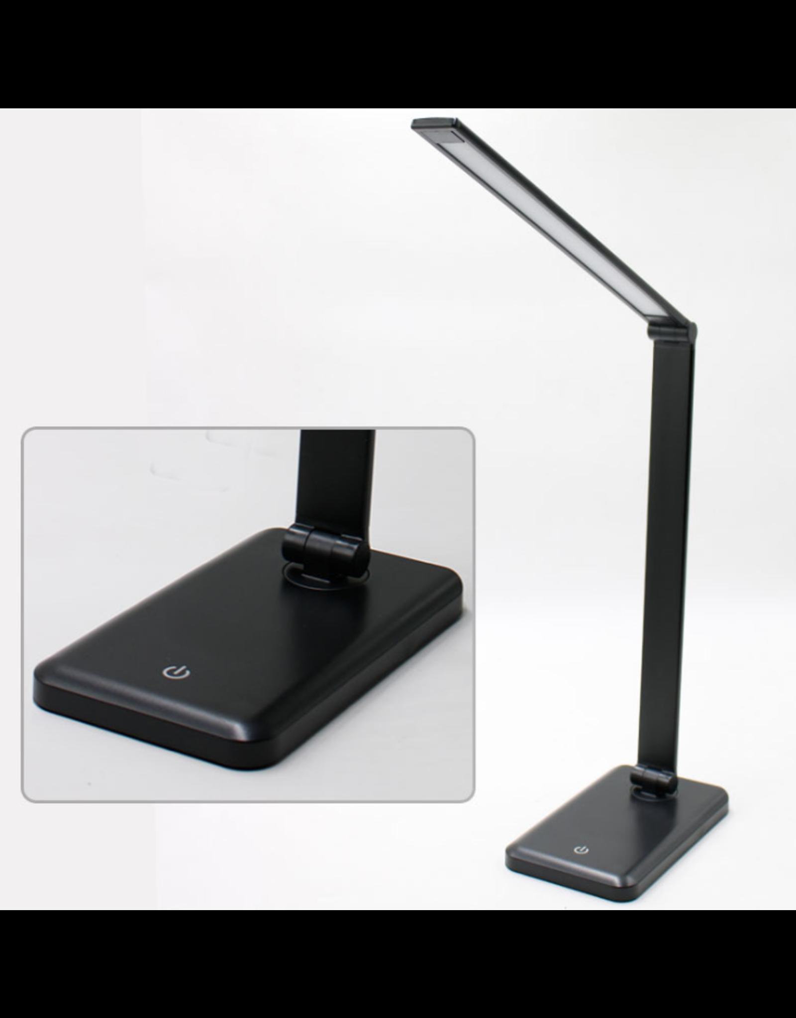 Parya Official Parya Official - LED Bureaulamp - Draadloos Opladen Voor Telefoon - Zwart