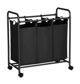 Parya Home Parya Home - Mobile laundry basket - Black