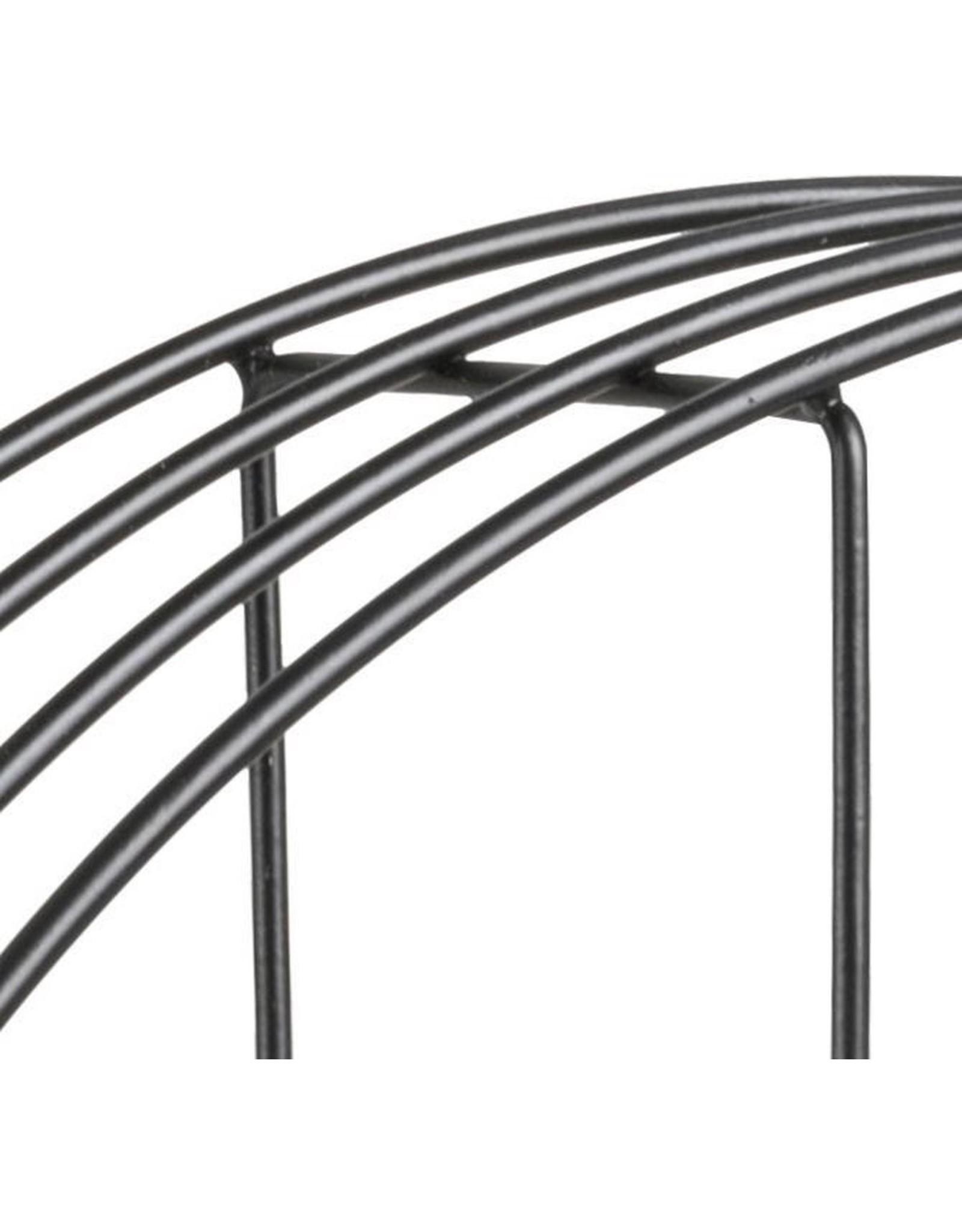 Parya Home Parya Home - Ronde Wandplank - Diameter Ø45 cm - MDF Planken - Metaal - 4 Planken