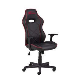 Parya Home Parya Home - Premium Gaming Chair - Office chair - Adjustable height - Leather - Black & Red