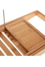 Five® - bamboe badplank uitschuifbaar - bruin