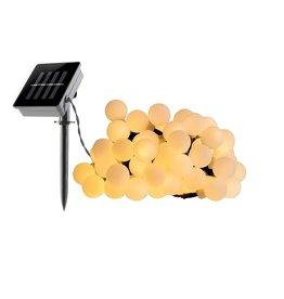 Parya Garden Parya Garden - LED Snoerverlichting - Zonne-energie - 6.9 meter - IP44 waterbestendig -  Warm Wit