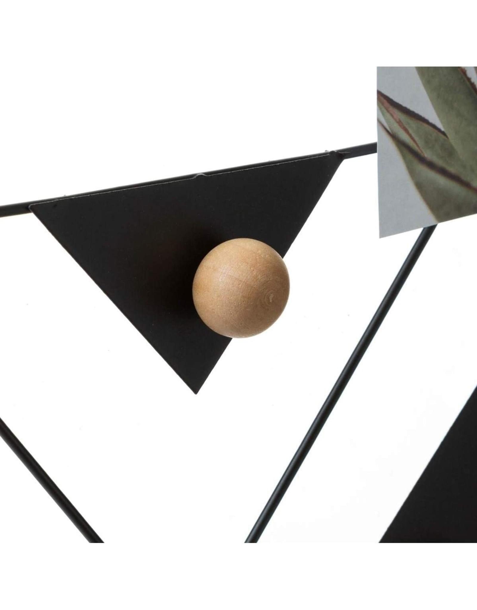 Atmosphera Atmosphera - Wandhouder 35x55 voor foto's - Muurbevestiging - Metaal - Zwart