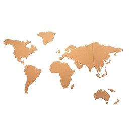 Atmosphera Atmosphera - World Map Pinboard - Cork -102x50cm - With Prickers