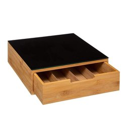 5Five - Luxury Capsule holder for coffee cups - Bamboo