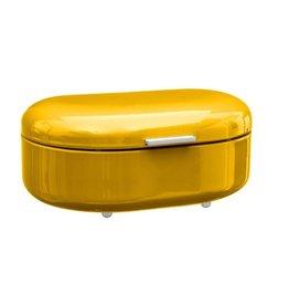 5Five - Bread bin - Metal - Oval - Yellow