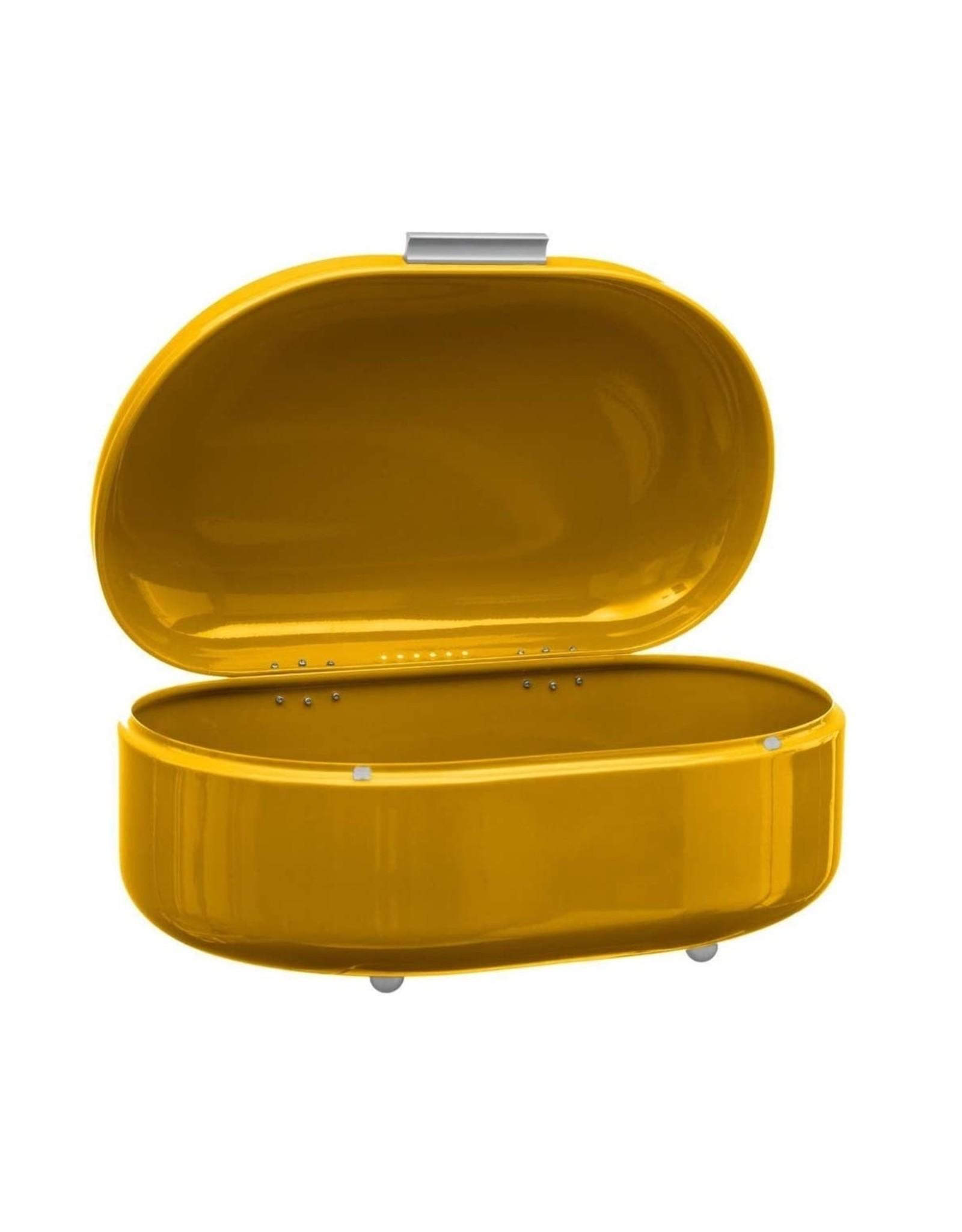 5Five - Broodtrommel - Metaal - Ovaal - Geel