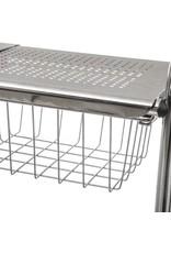 5Five - Keukenrekje - Uitschuifbaar - Voor spoelbakken - Zilver