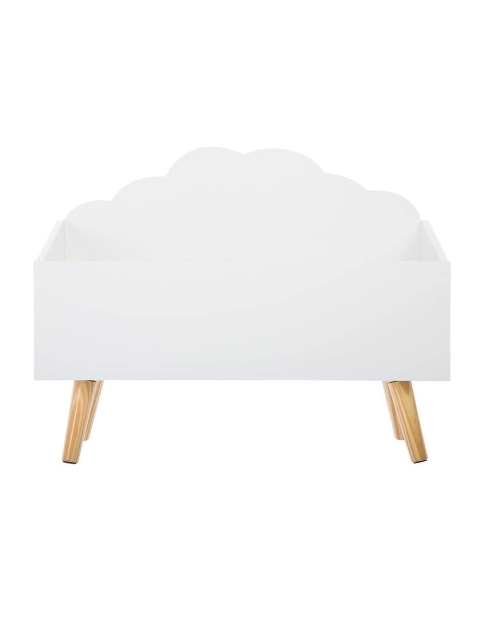 Atmosphera Atmosphera - Speelgoedkist – Wolkenvorm – Wit
