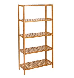 Parya Home Parya Home - Bathroom Rack with 5 shelves - Bamboo