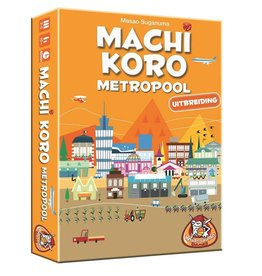 White Goblin Games Machi Koro - Metropolis - Expansion - Card Game