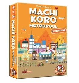 White Goblin Games Machi Koro - Metropool - Uitbreiding - Kaartspel