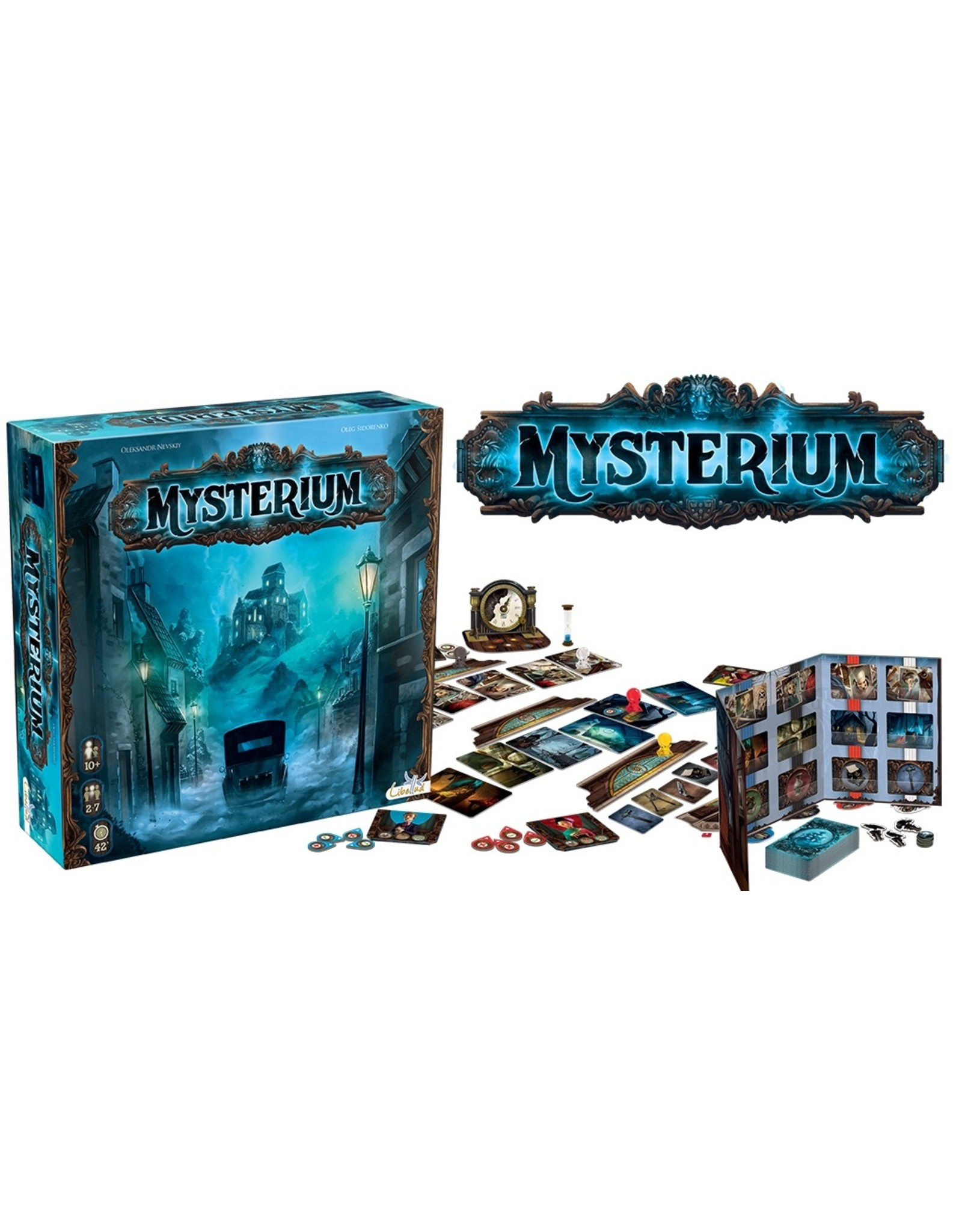 Mysterium  - Spannend en geheimzinnig bordspel Engelstalige versie