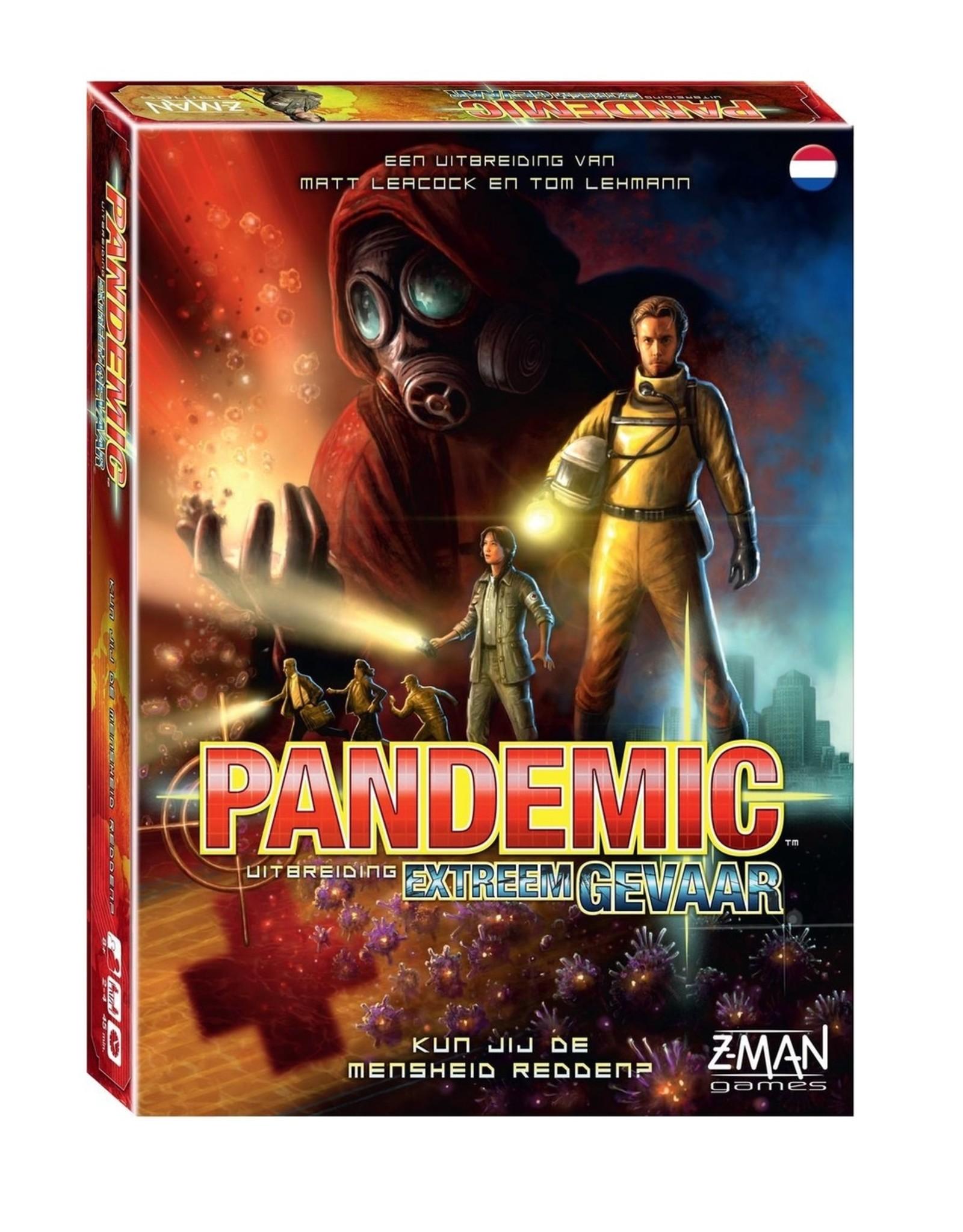 Pandemic - Extreem Gevaar - Uitbreiding - Bordspel