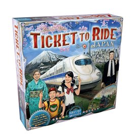 Ticket to Ride - Japan & Italië - Uitbreiding - Bordspel