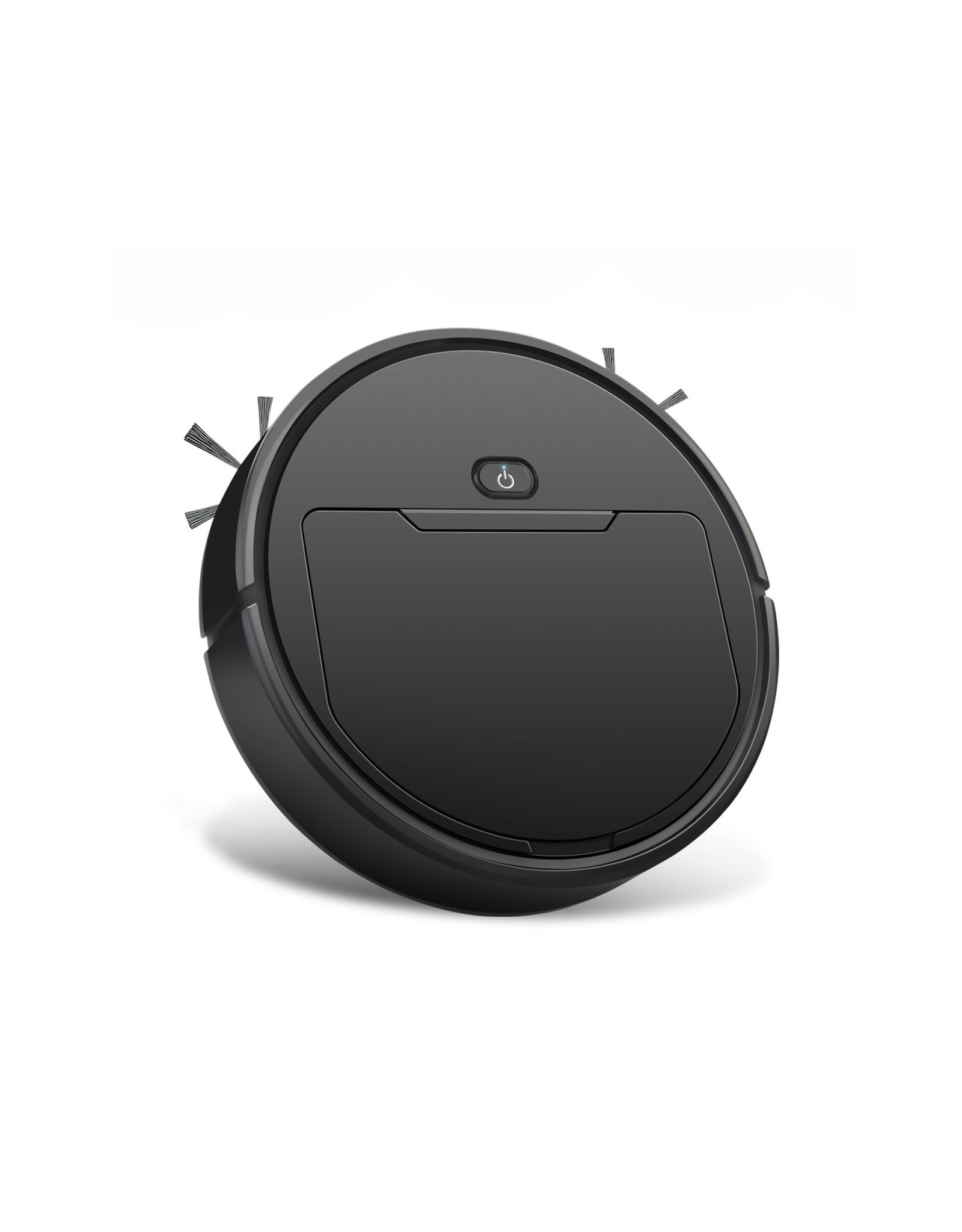 Parya Official Parya Official - Intelligente Robot Stofzuiger - Rond - Draadloos - Zwart