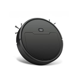 Parya Official Parya Official - Intelligent Robot Vacuum Cleaner - Round - Wireless - Black