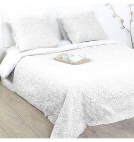 Atmosphera Atmosphera Bedspread Arabic Ivory (260x240) incl. pillowcases