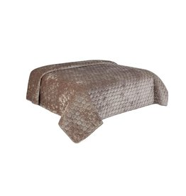Unique Living Unique Living Peggy - Bedspread - Tweepersoons - 220x220 cm - Taupe