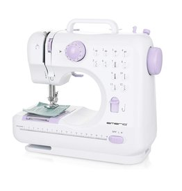 Emerio - SEW-121820 - Electric Sewing Machine - 7,2 Watt - White & Violet