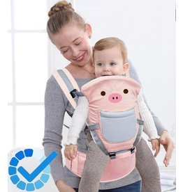 Parya Official Parya Official - Baby Carrier - Pig - max 20 kg