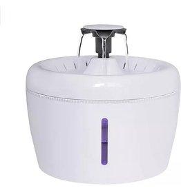Parya Pets Parya Pets - Drinkfontein  voor de Kat - Inclusief 3 herbruikbare filters – Wit – 2 liter