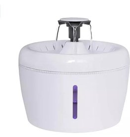 Parya Pets Parya Pets - Drinking fountain for cats - Includes 3 reusable filters - White - 2 liters