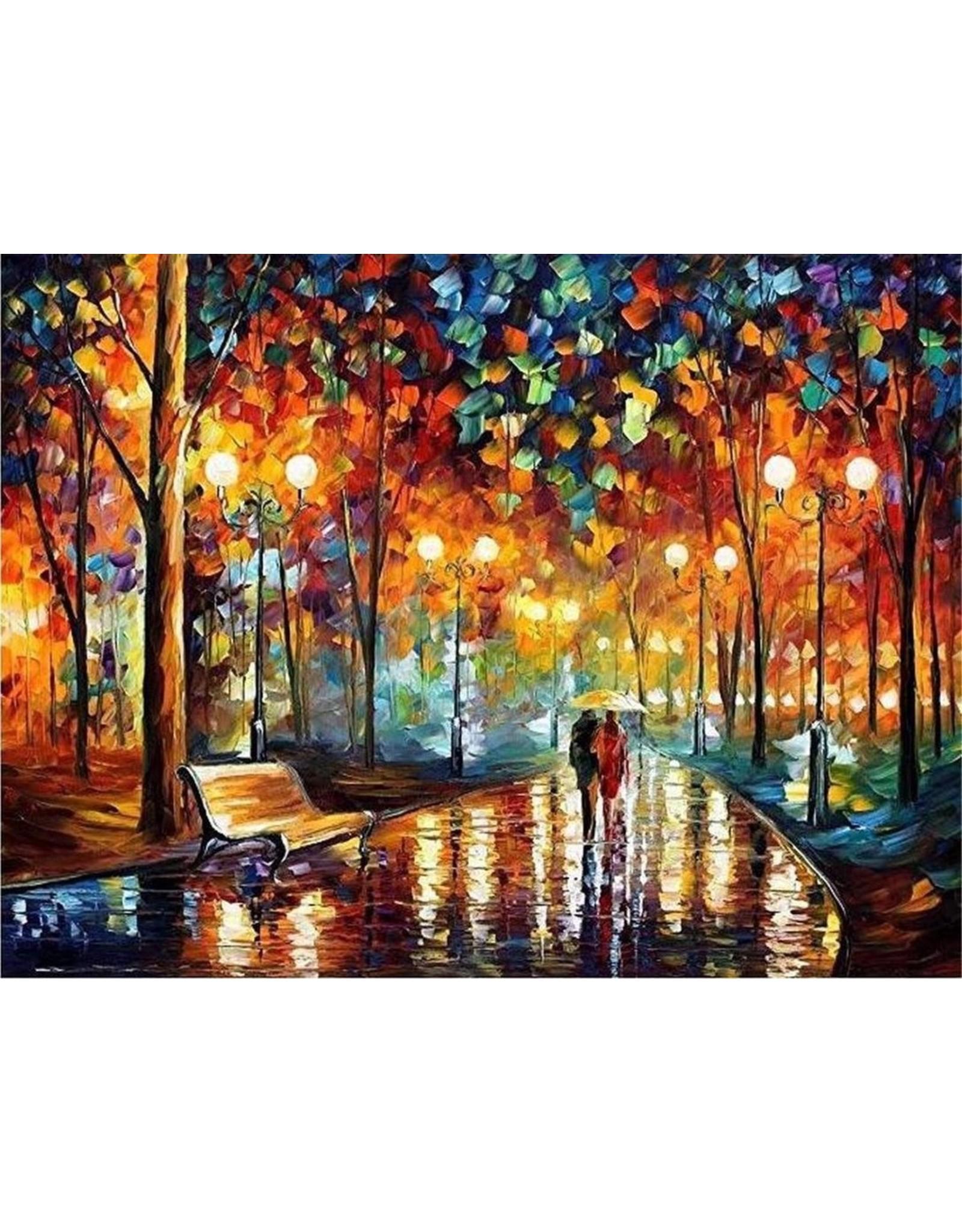 Parya Official Parya Official - Schilderen op nummer - Volwassenen - Starters pakket - 4 schilderijen - 40x50 cm