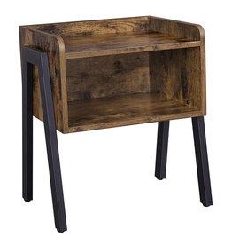 Parya Home Parya home - Vintage - Wooden Bedside table - Industrial