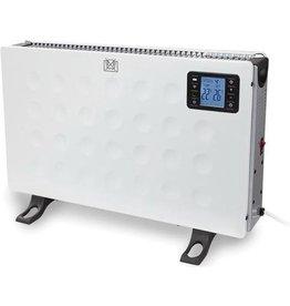 PEREL Smart heater - 2000W - verbinden met Android of iOS- Wit