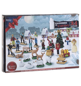 Advent Calendar Christmas 2021 - Christmas Village accessories and decoration - 24 Gifts