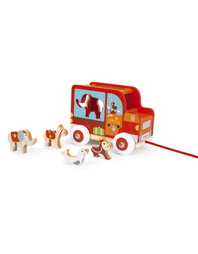 Scratch Sorteerwagen | Circus