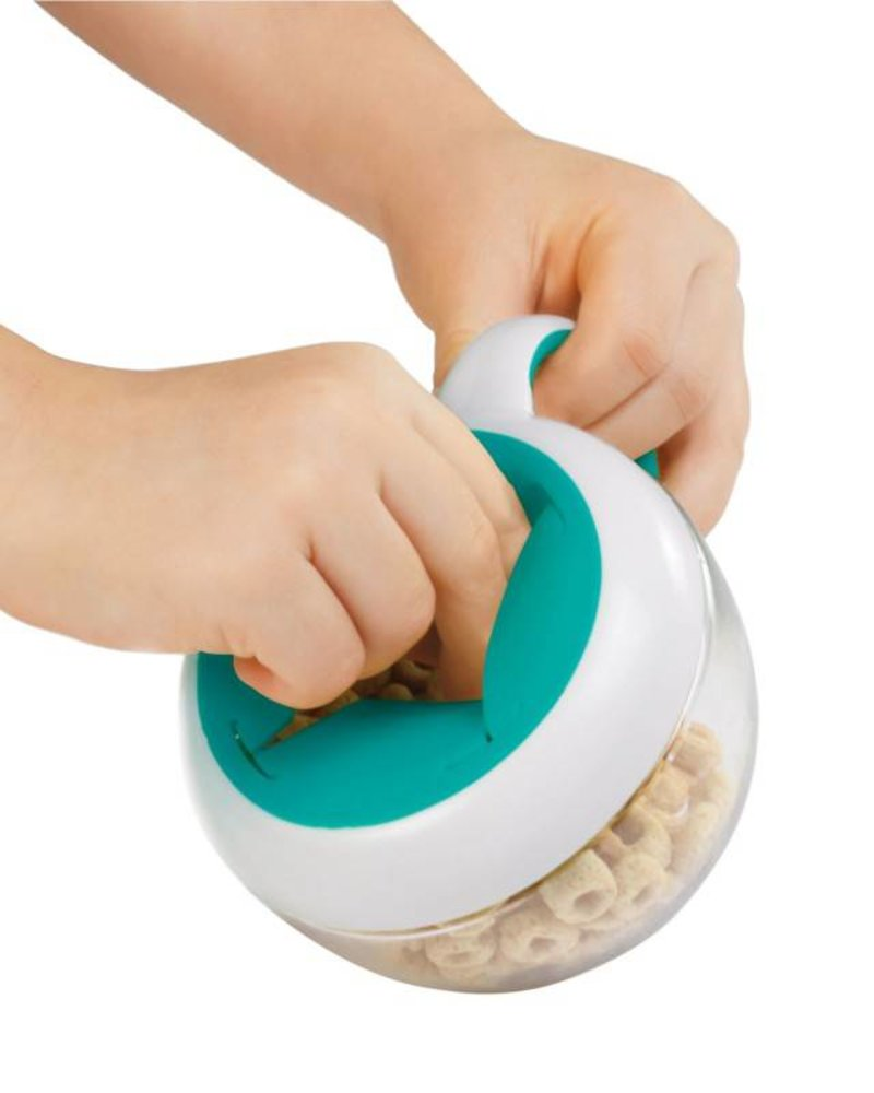 oxo tot Flippy Snack Cup | Teal
