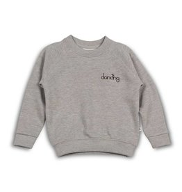 Cos I said so Sweater | Heather Grey | Dancing