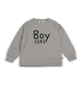 Cos I said so Sweater | Heather Grey | Boy Gang