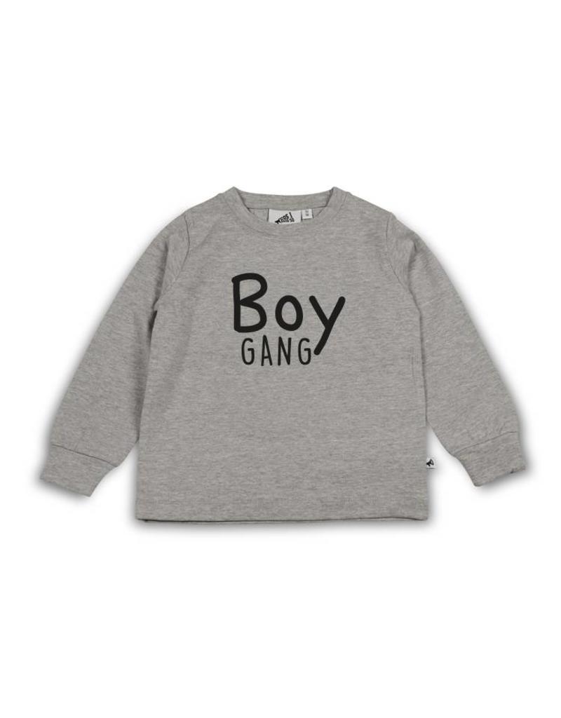 Cos I said so Sweater   Heather Grey   Boy Gang