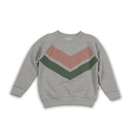 Cos I said so Sweater | Heather Grey | Chevron