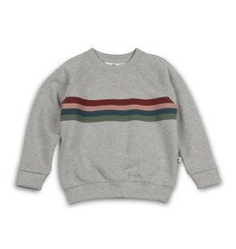 Cos I said so Sweater | Heather Grey | Varsity Stripes