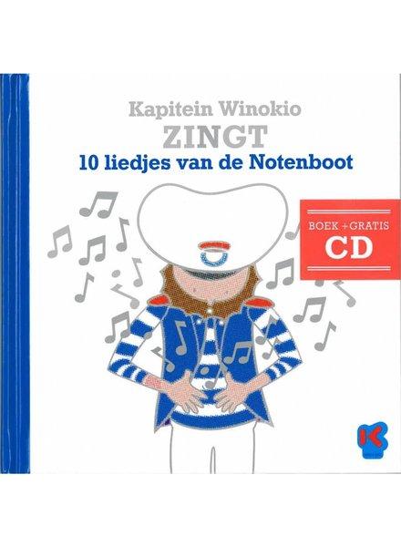 Kapitein Winokio Kapitein Winokio zingt 10 liedjes van de notenboot