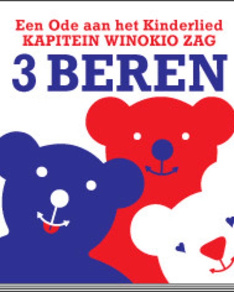 Kapitein Winokio Kapitein Winokio zag 3 beren