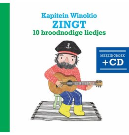 Kapitein Winokio Kapitein Winokio zingt 10 broodnodige liedjes