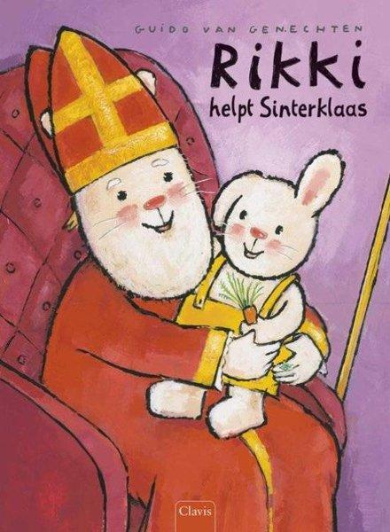 Clavis Rikki helpt Sinterklaas