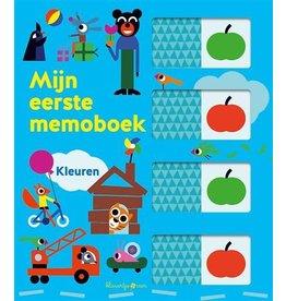 Ballon Mijn eerste memoboek | Kleuren