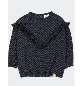 Blune Wonderful sweatshirt | Chevrons Lurex